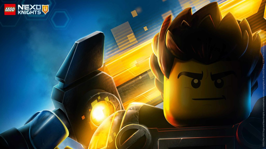 LEGO Nexo Knights Wallpaper Clay