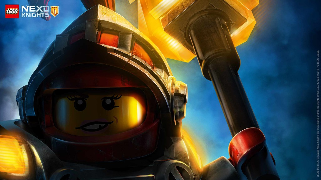 LEGO Nexo Knights Wallpaper Macy