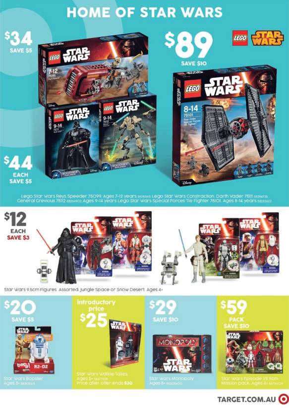 Target LEGO Sales - January 2016