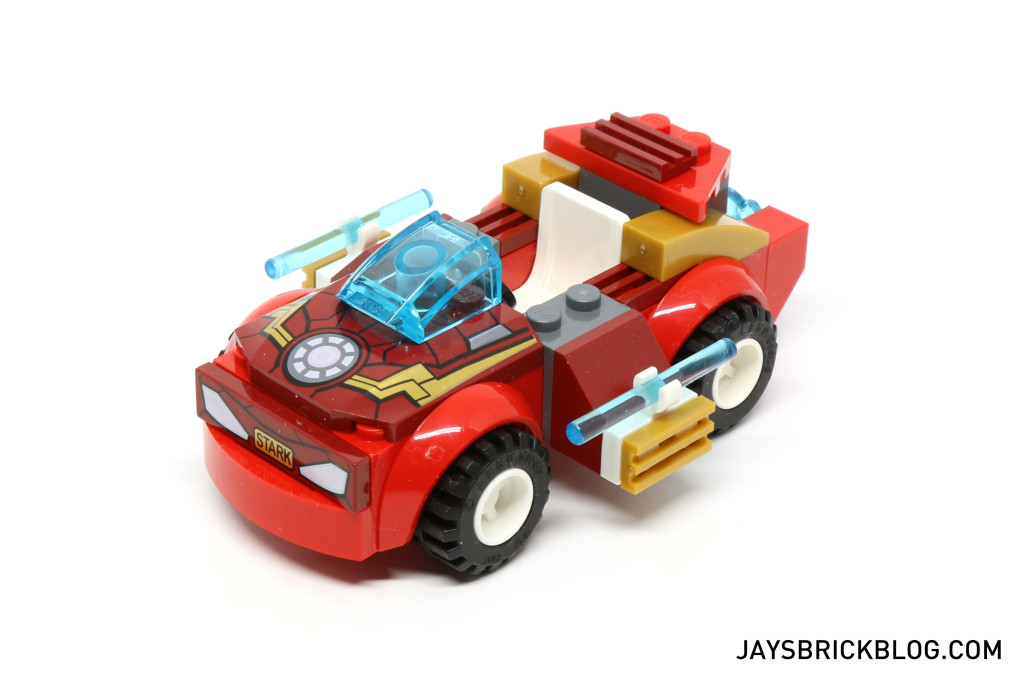 LEGO 10721 Juniors Iron Man vs Loki - Iron Man Car
