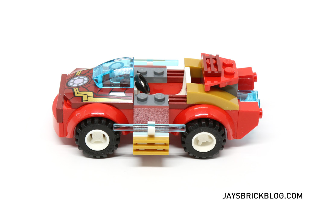 LEGO 10721 Juniors Iron Man vs Loki - Iron Man Car Side View