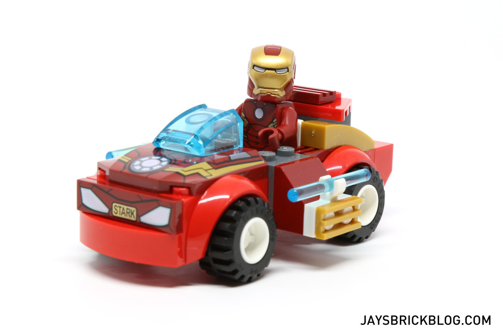 LEGO 10721 Juniors Iron Man vs Loki - Iron Man in Car
