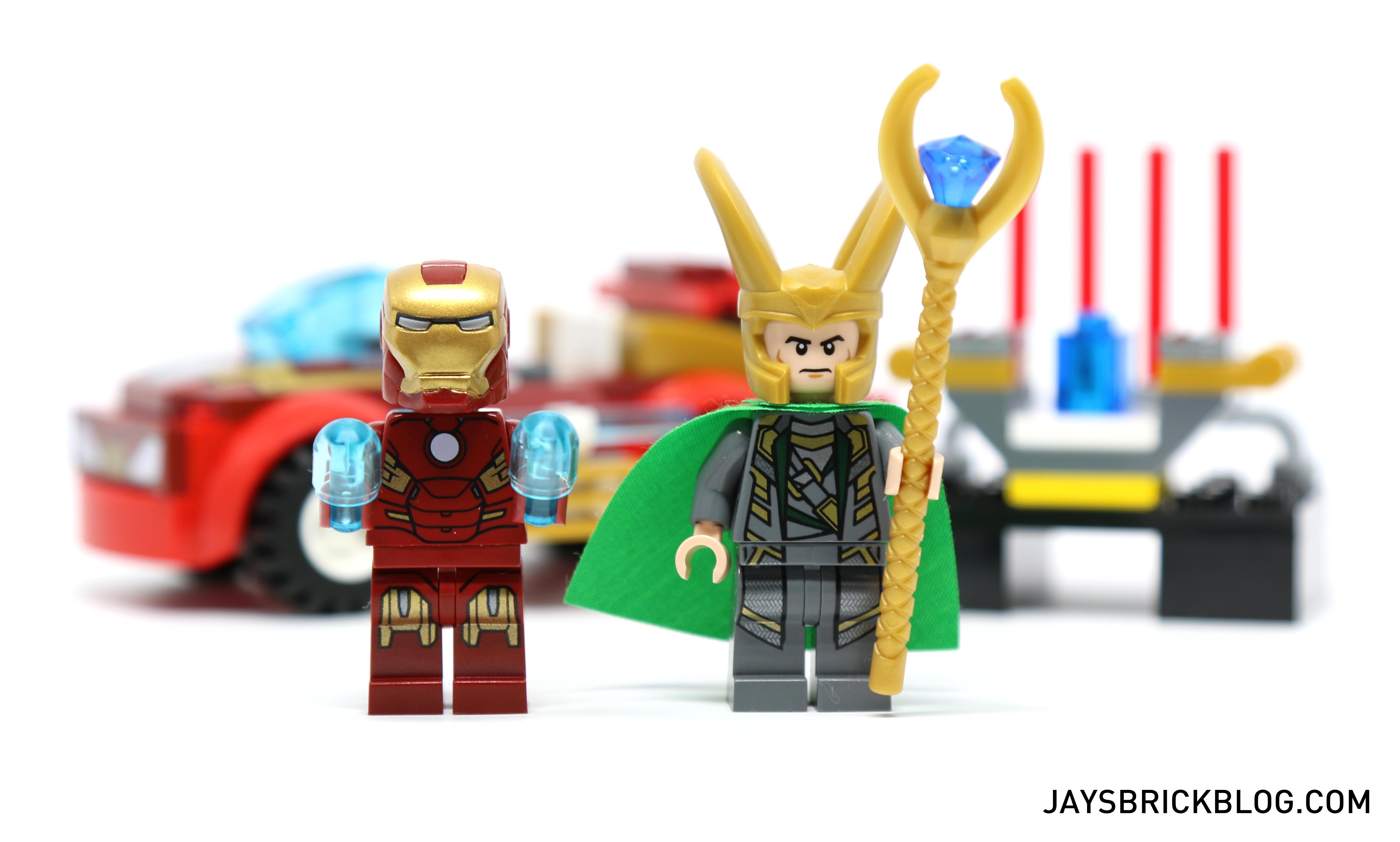 LEGO 10721 Juniors Iron Man vs Loki - Minifigures