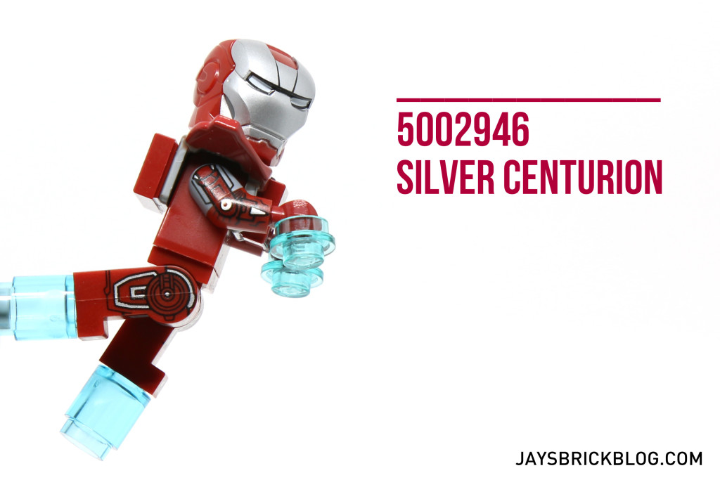 Review: LEGO 5002946 – Silver Centurion Polybag