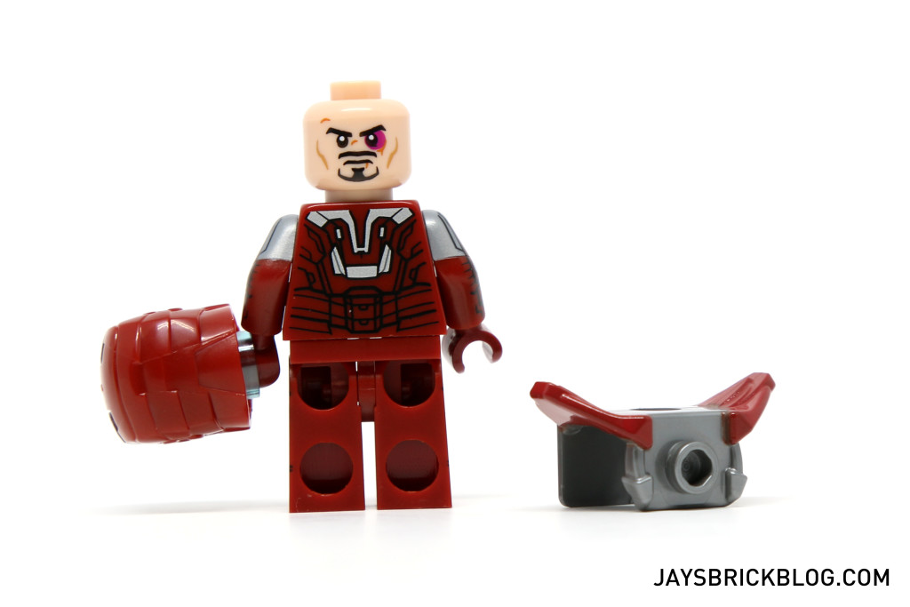 LEGO 5002946 - Silver Centurion Back Printing Alternate Face