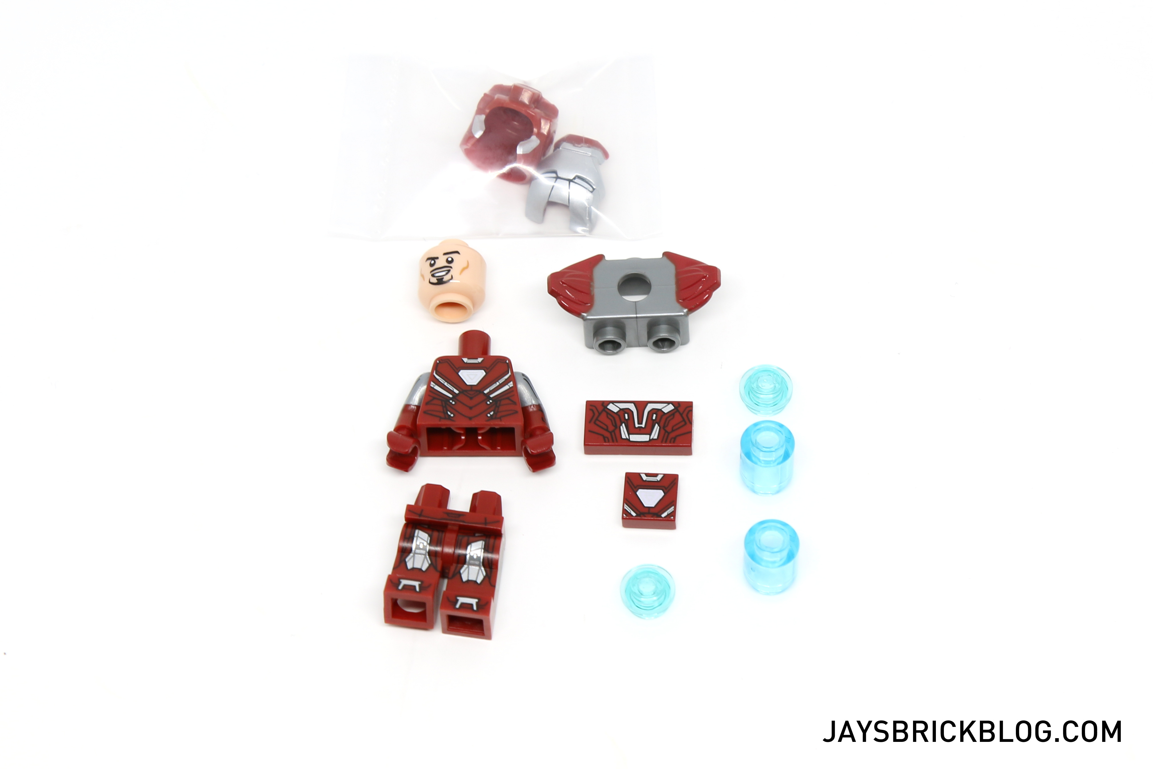 NEW LEGO SILVER CENTURION MINIFIGURE POLYBAG 5002946 MARVEL AVENGERS IRON MAN