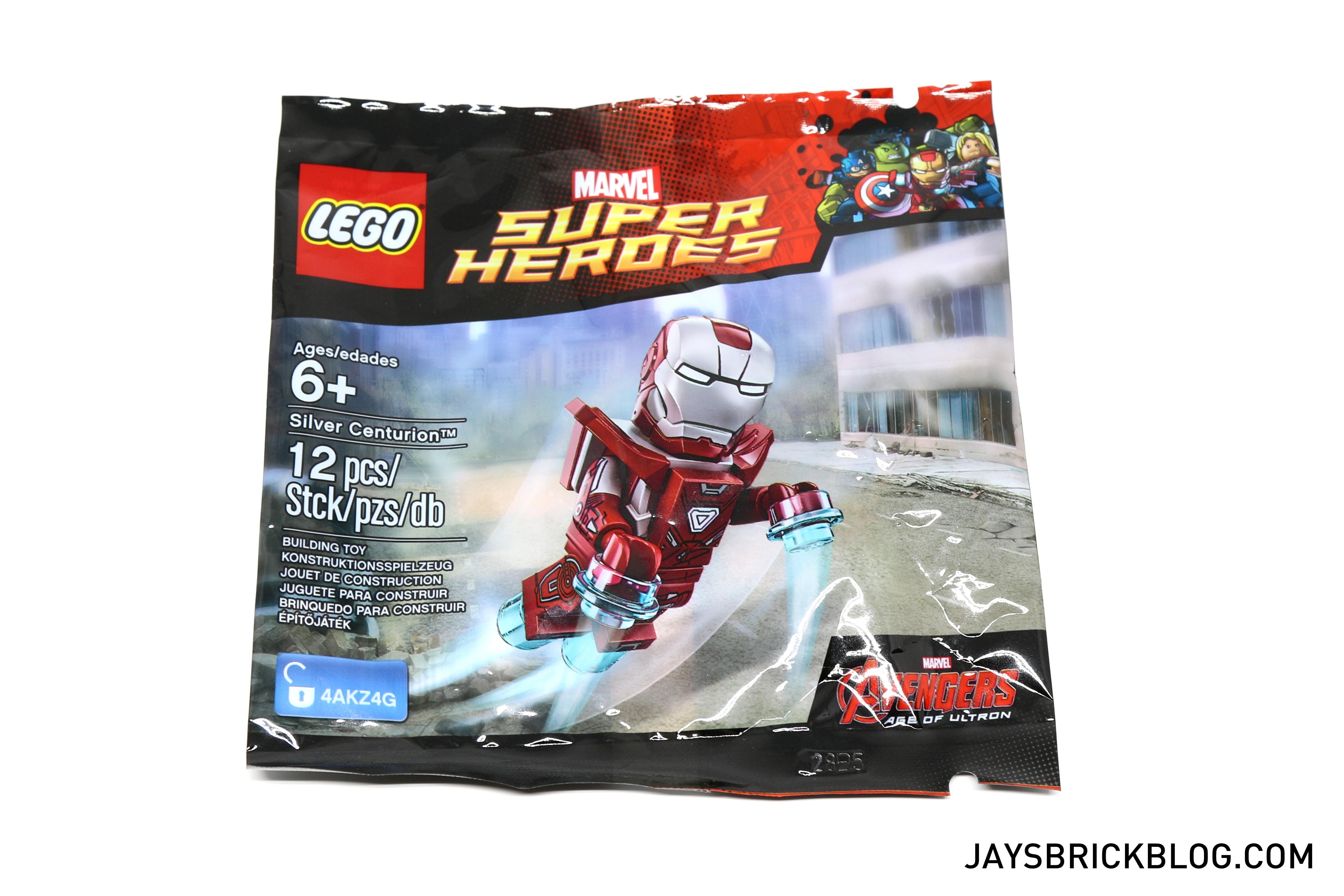 Review Lego 5002946 Silver Centurion Polybag
