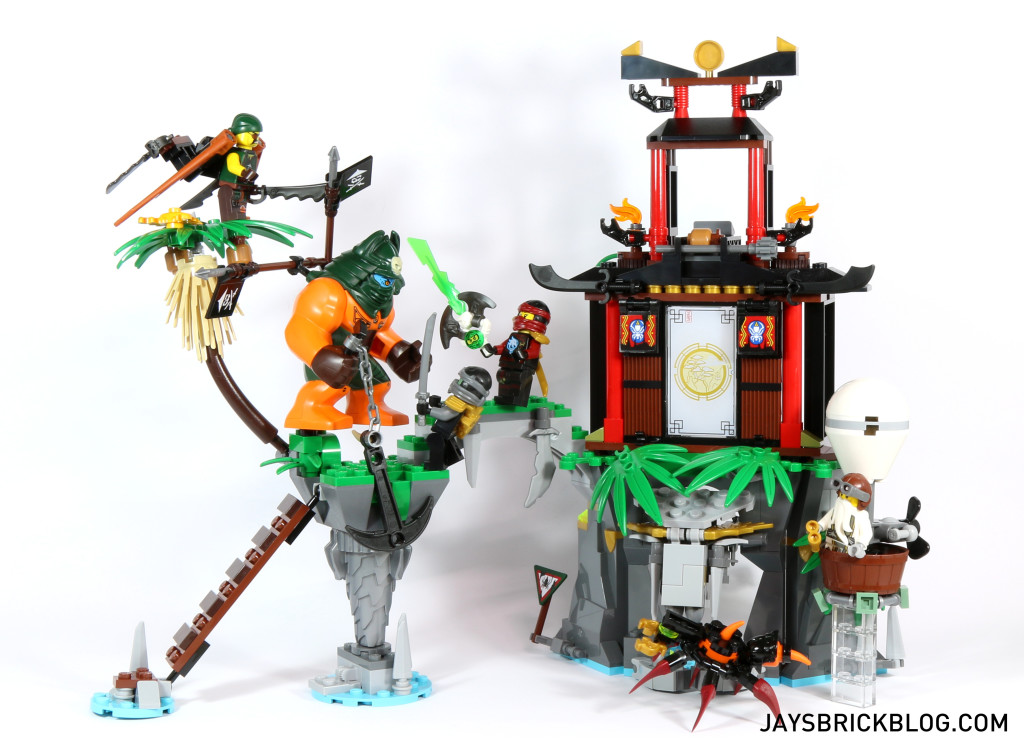 LEGO 70604 Ninjago Tiger Widow Island