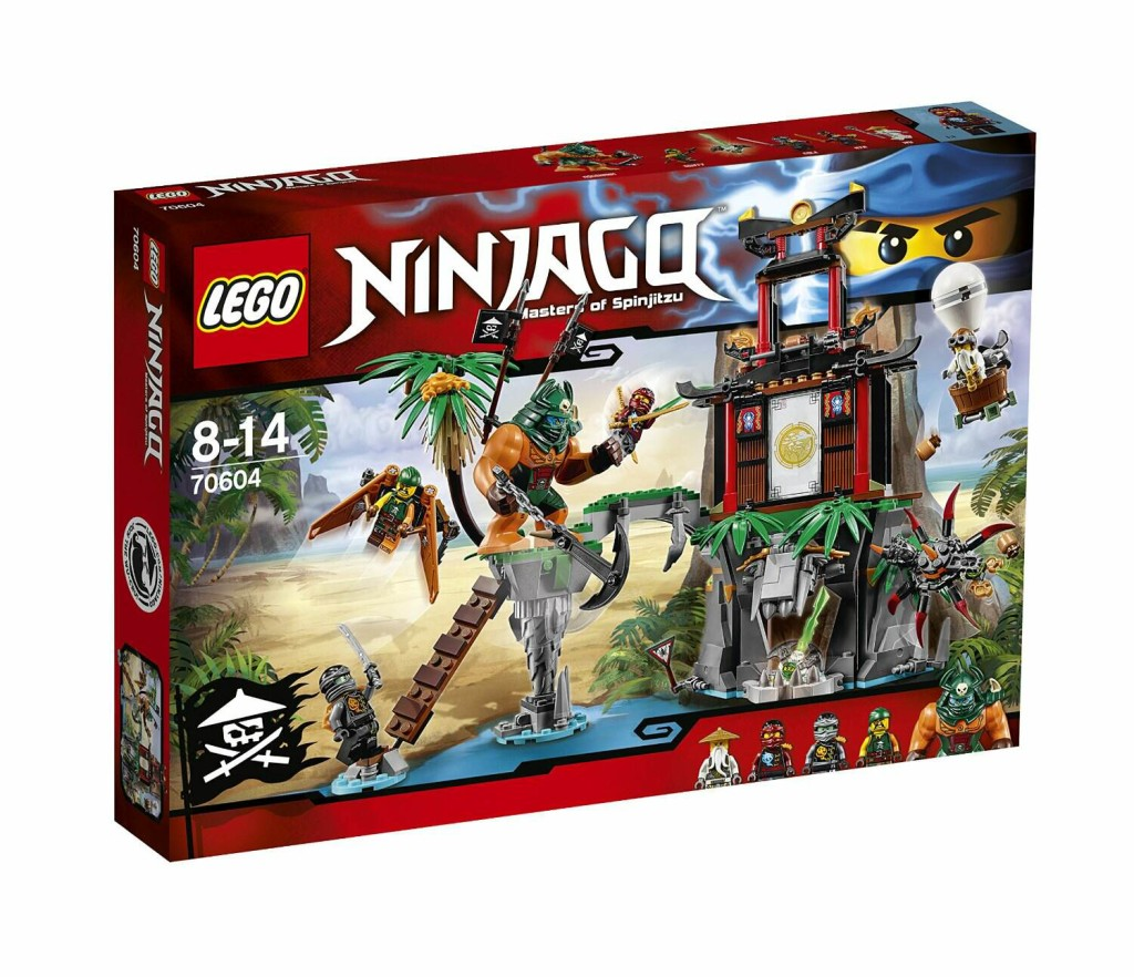LEGO 70604 Ninjago Tiger Widow Island - Box Art