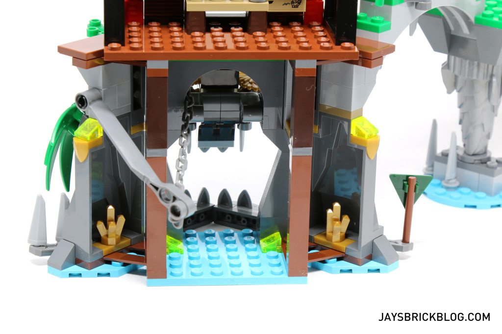 LEGO 70604 Tiger Widow Island - Cave and Lever