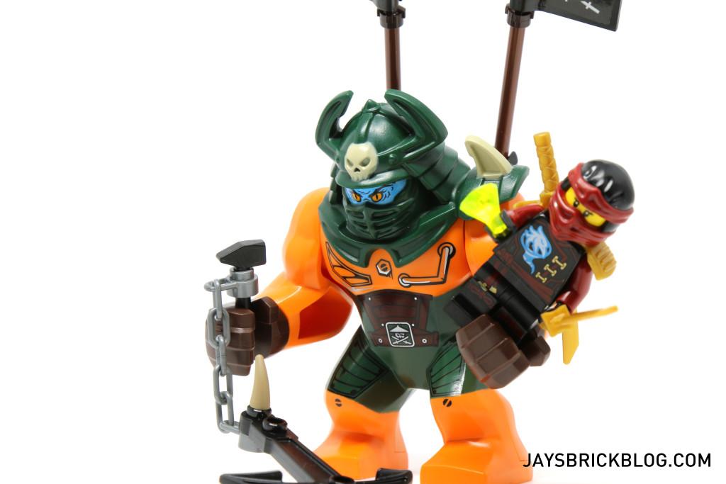 LEGO 70604 Tiger Widow Island - Dogshank gripping Nya
