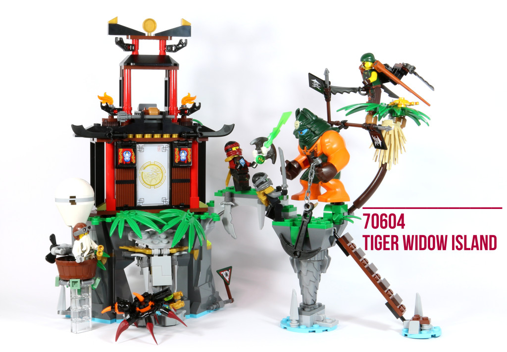 Review: LEGO 70604 – Tiger Widow Island