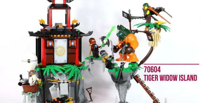 Review: LEGO 70604 – Tiger Widow Island