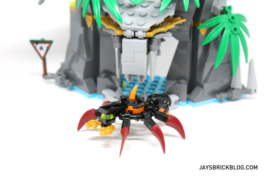 LEGO 70604 Tiger Widow Island - Giant Spider