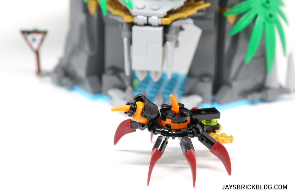 LEGO 70604 Tiger Widow Island - Giant Spider Tail