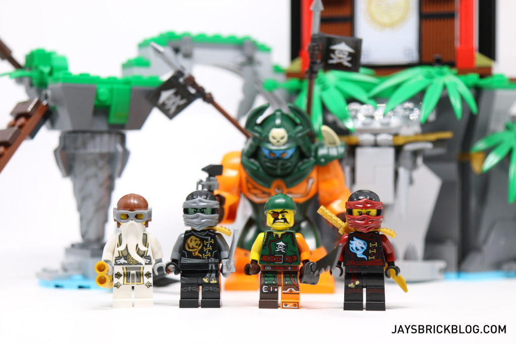 LEGO 70604 Tiger Widow Island - Minifigures