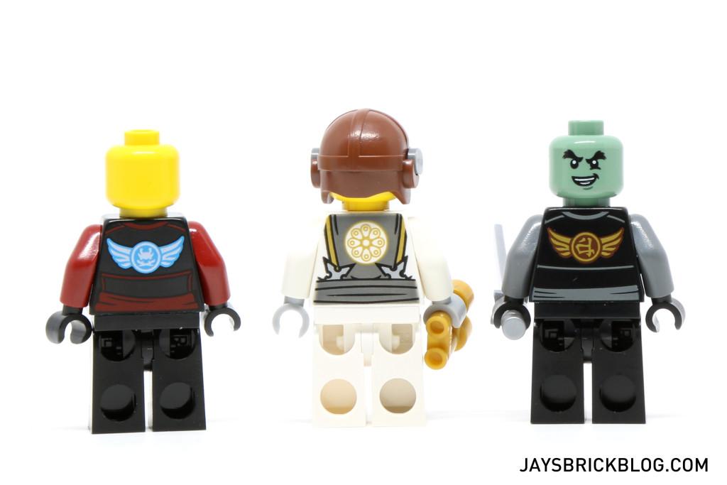 LEGO 70604 Tiger Widow Island - Minifigures Back Printing