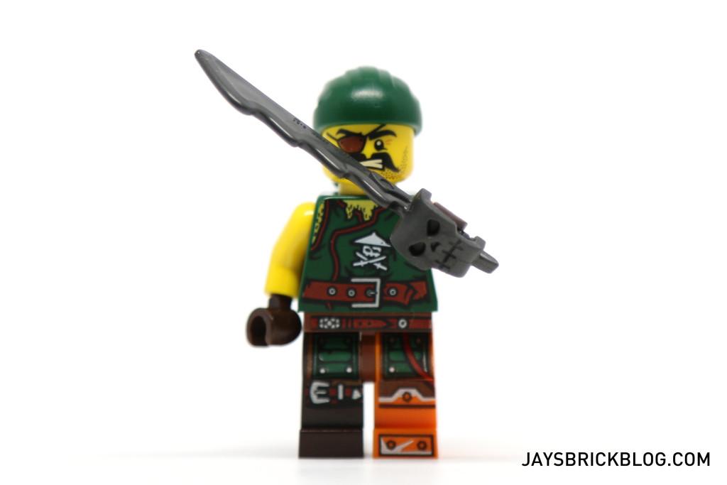 LEGO 70604 Tiger Widow Island - New Pirate Cutlass Skull