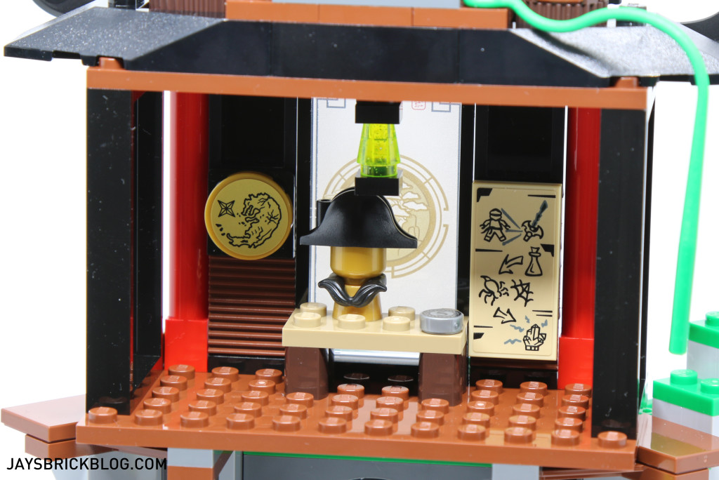 LEGO 70604 Tiger Widow Island - Ninja Mission Room