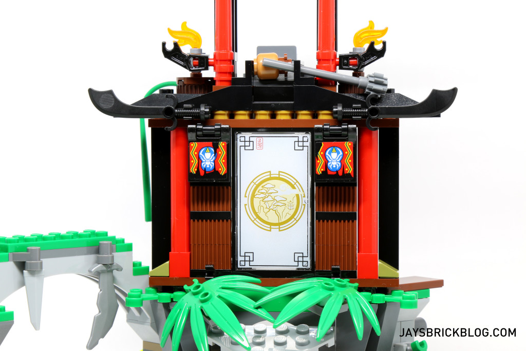 LEGO 70604 Tiger Widow Island - Ninja Mission Room Oriental Screen