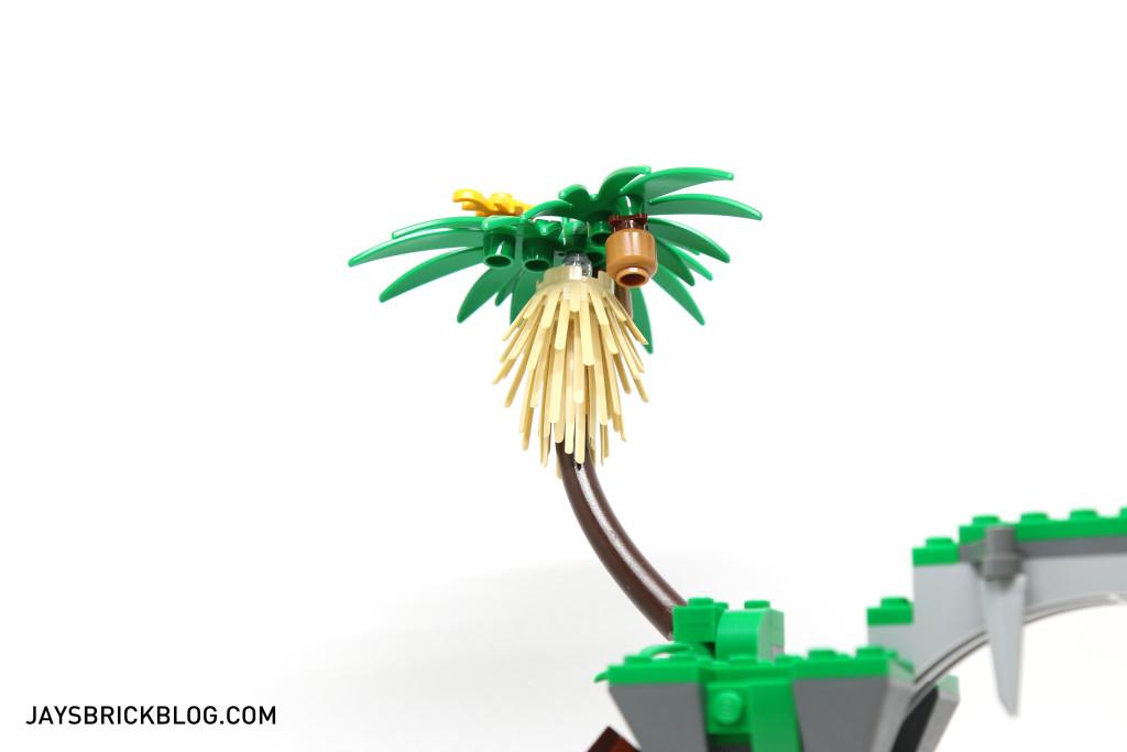LEGO 70604 Tiger Widow Island - Palm Tree