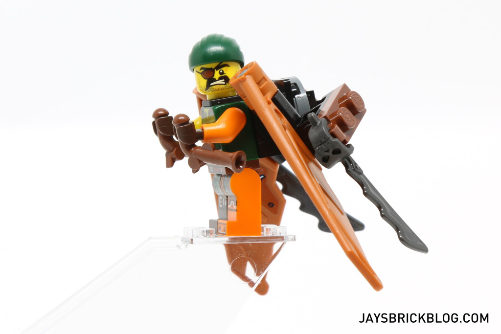 LEGO 70604 Tiger Widow Island - Pirate Flyer Side View