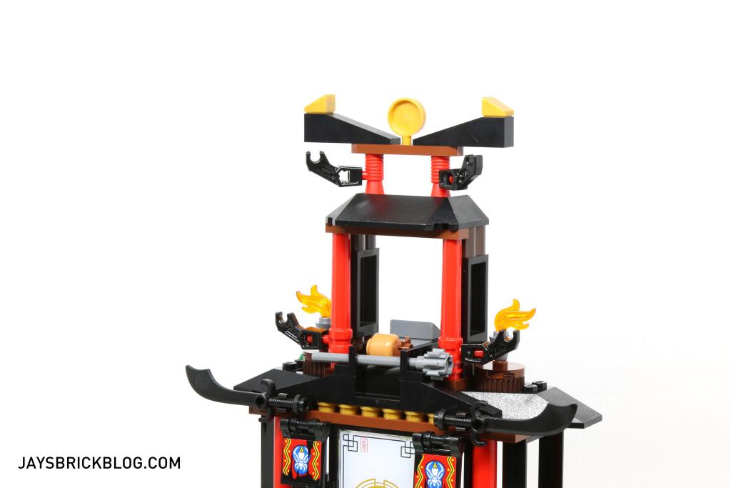 LEGO 70604 Tiger Widow Island - Roof