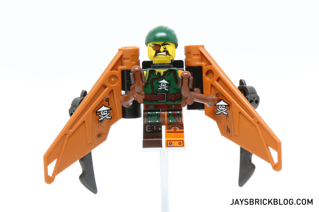 LEGO 70604 Tiger Widow Island - Sqiffy Pirate Flyer
