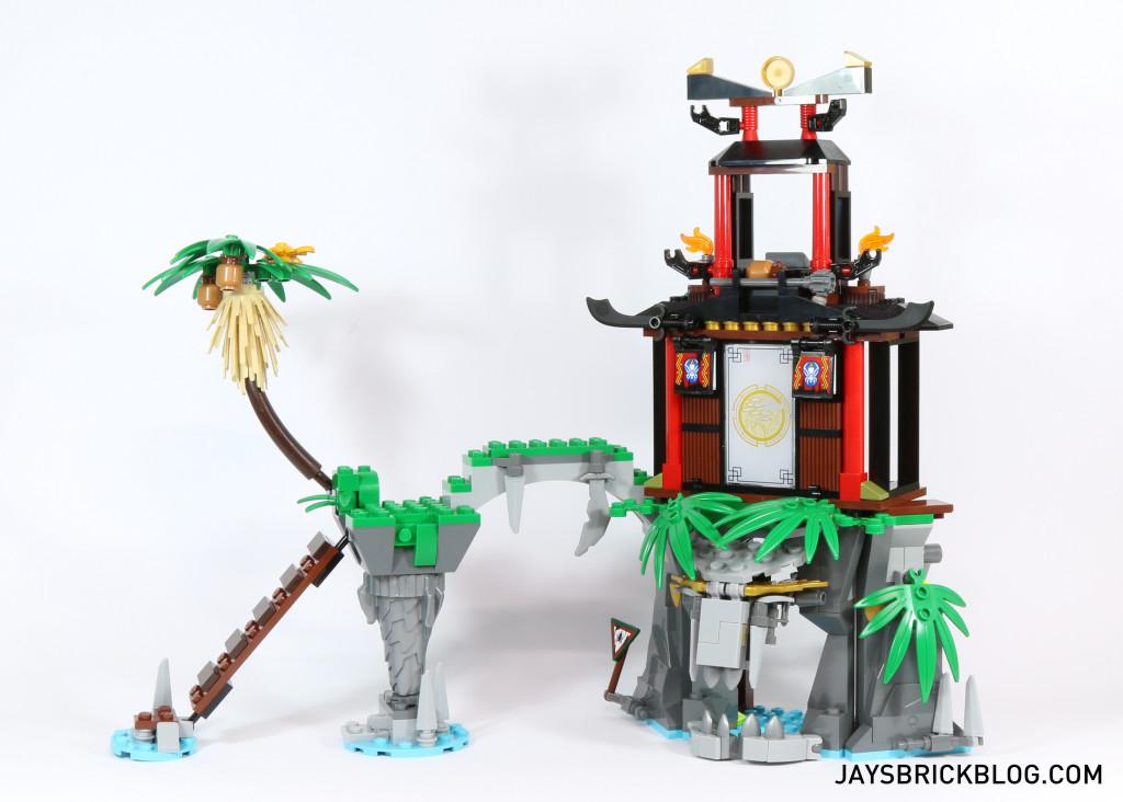LEGO 70604 Tiger Widow Island - Structure