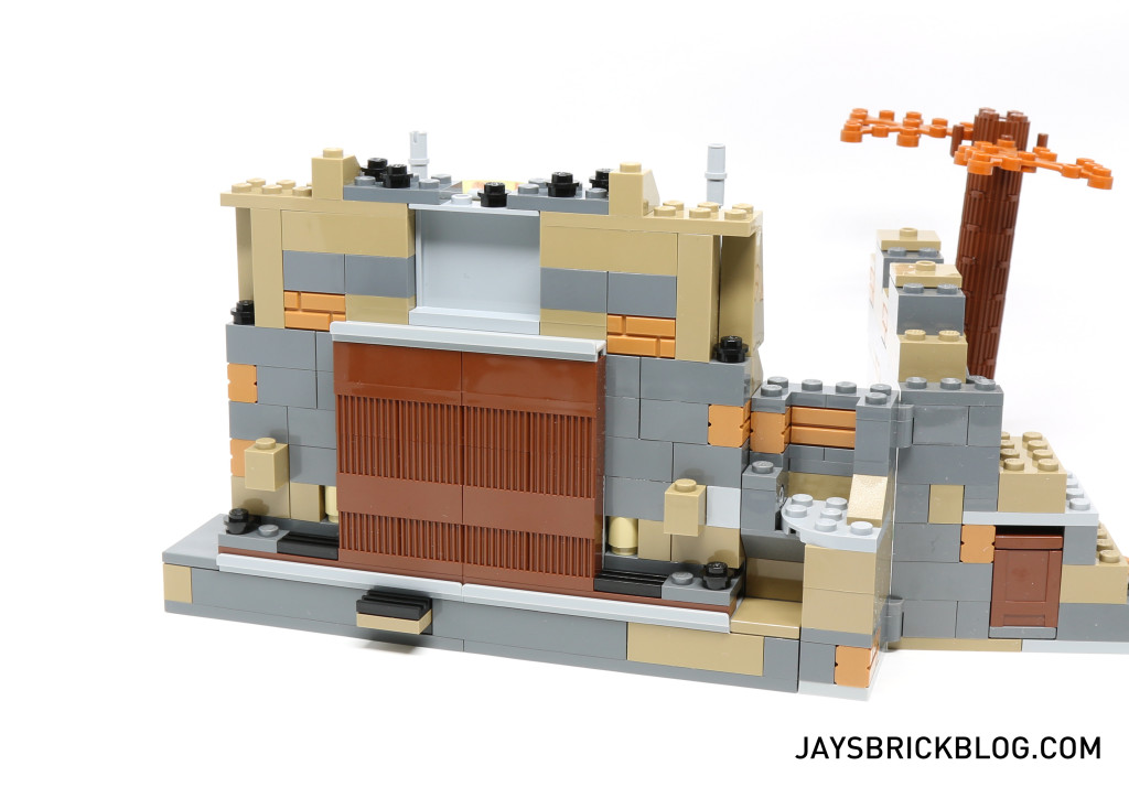 LEGO 75139 Battle on Takodana - Back Section