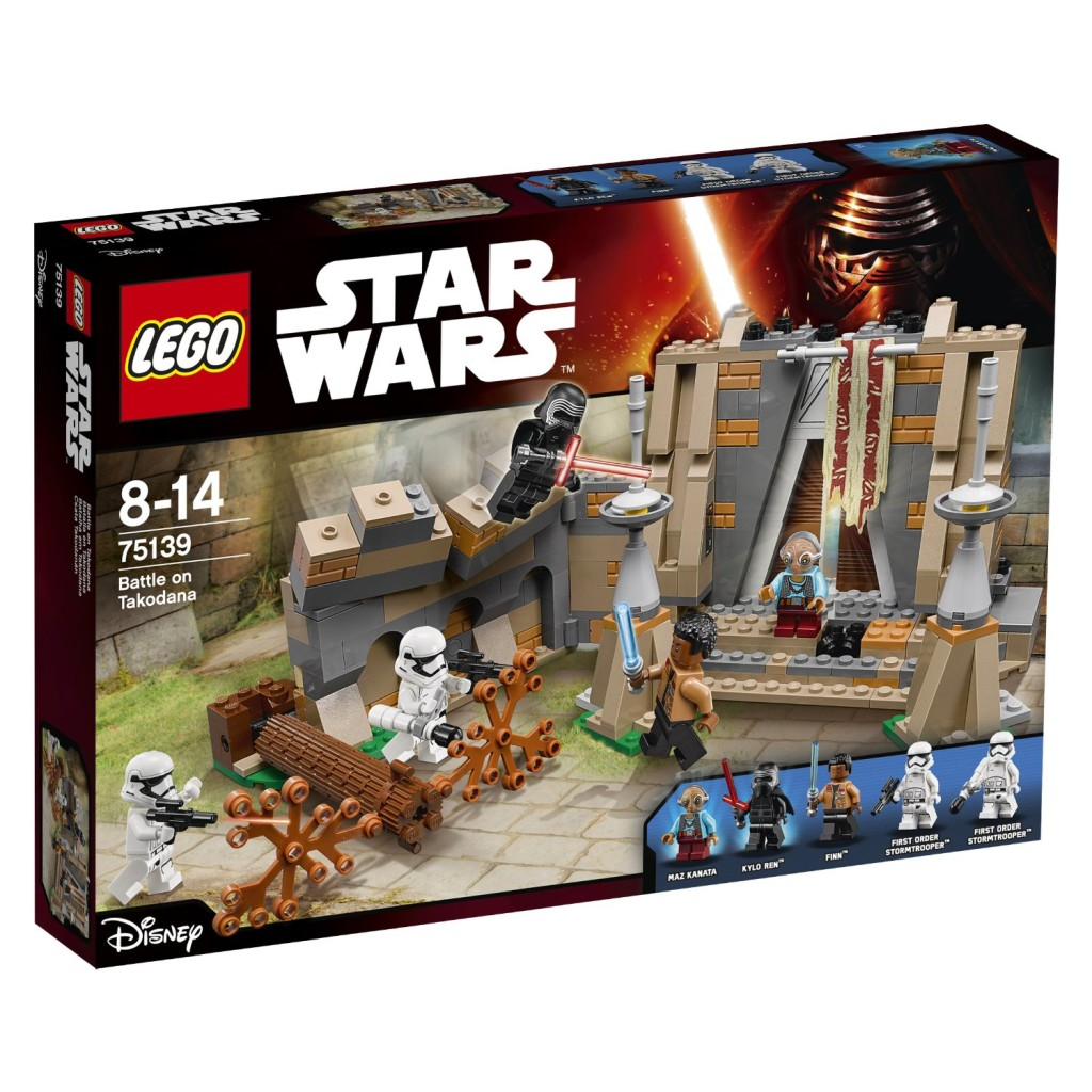 LEGO 75139 Battle on Takodana - Box