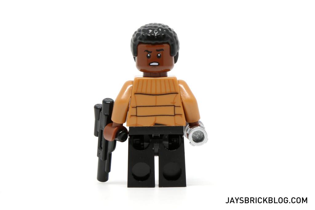 LEGO 75139 Battle on Takodana - Finn Back Printing