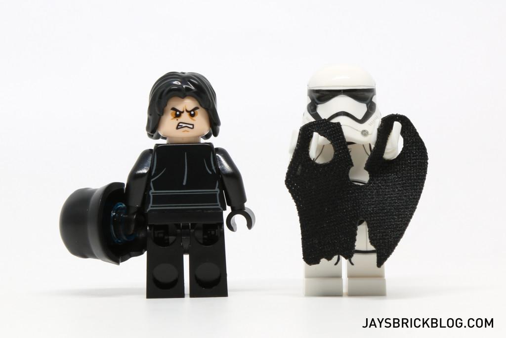 LEGO 75139 Battle on Takodana - Kylo Ren Minifigure Alternate Face