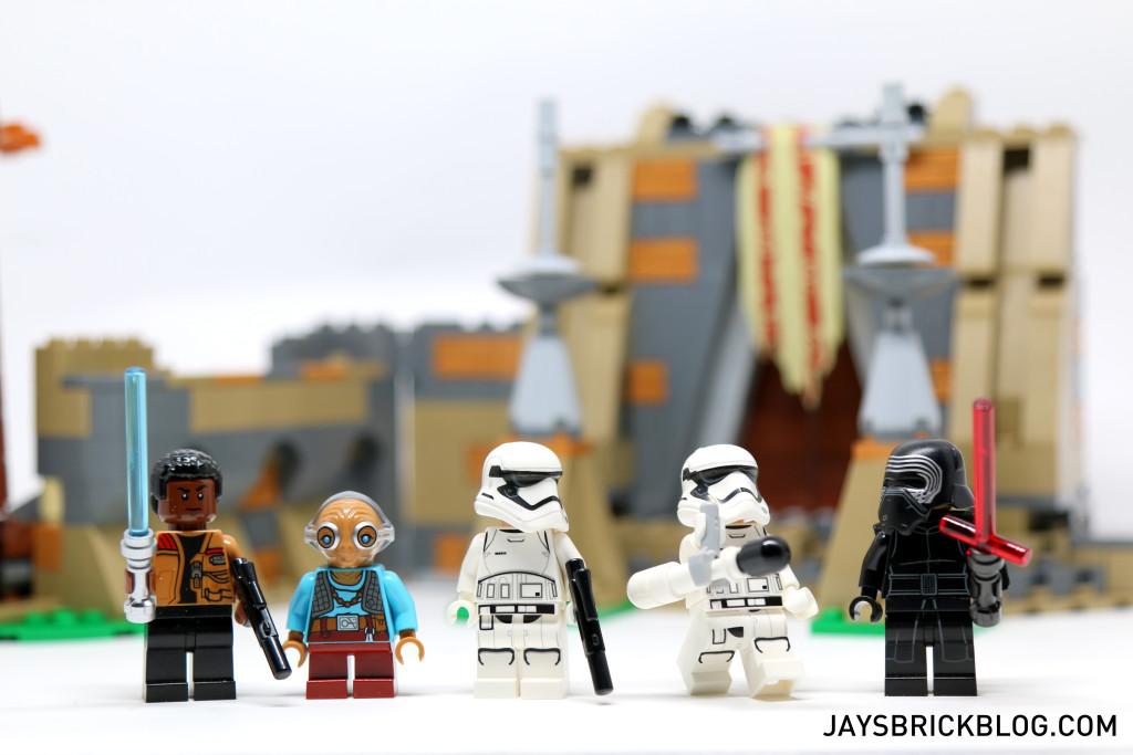 LEGO 75139 Battle on Takodana - Minifigures