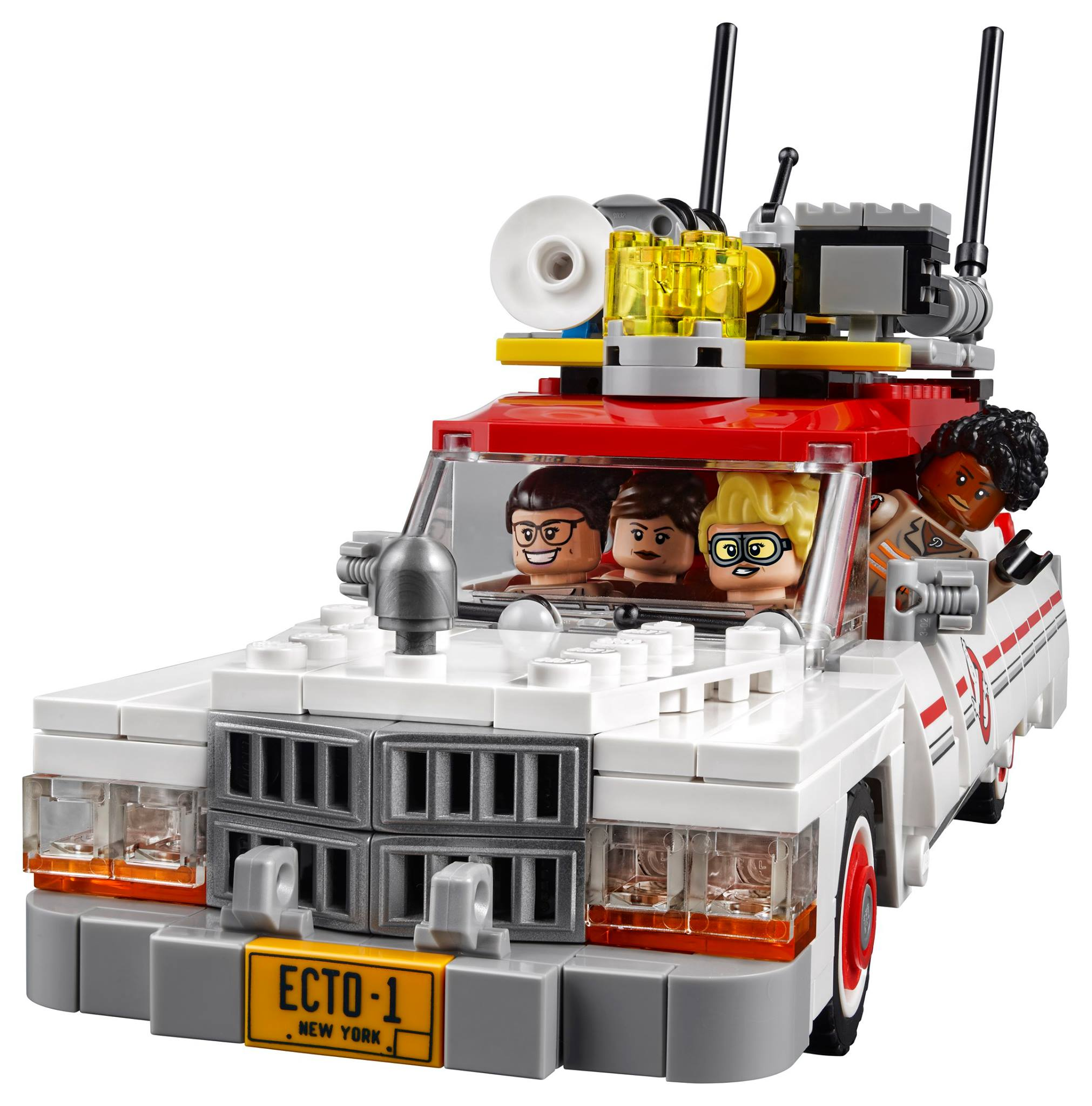 who you gonna call lego unveils new 75828 ghostbusters ecto 1 2. Black Bedroom Furniture Sets. Home Design Ideas