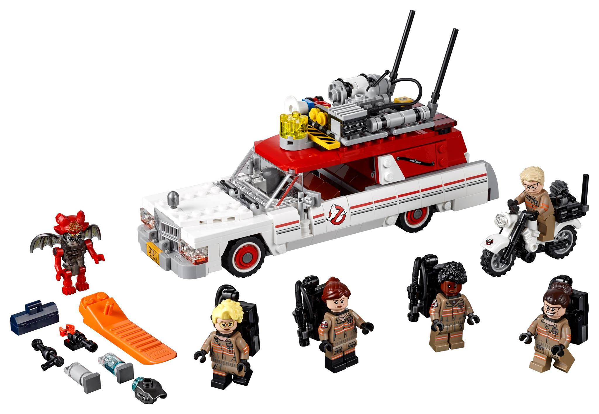 who you gonna call lego unveils new 75828 ghostbusters. Black Bedroom Furniture Sets. Home Design Ideas