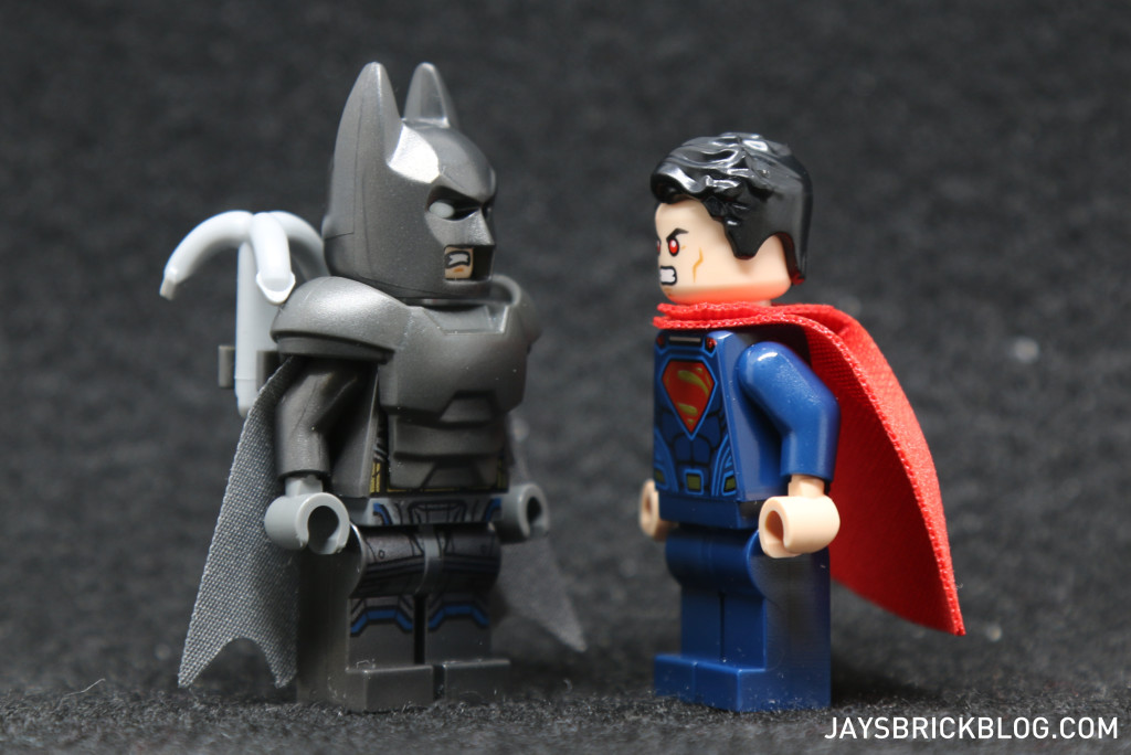LEGO 76044 Clash of the Heroes - Batman vs Superman Minifigure