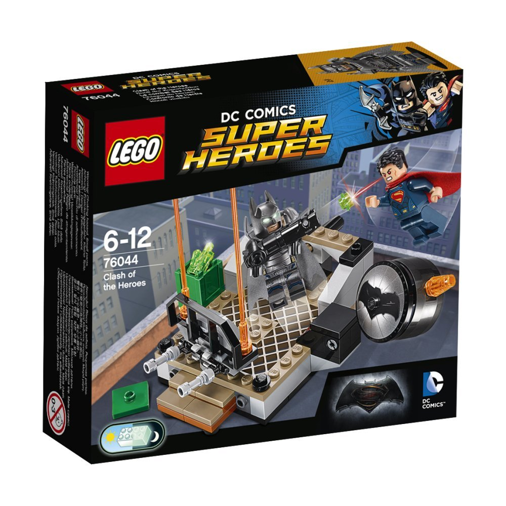 LEGO 76044 Clash of the Heroes - Box Art