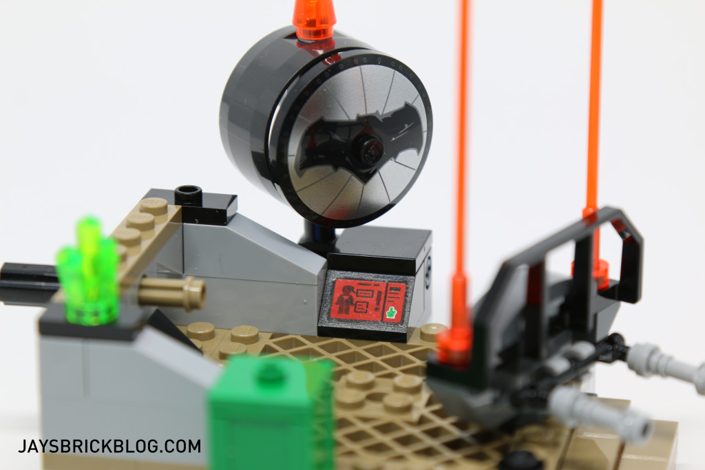 LEGO 76044 Clash of the Heroes - Computer Panel