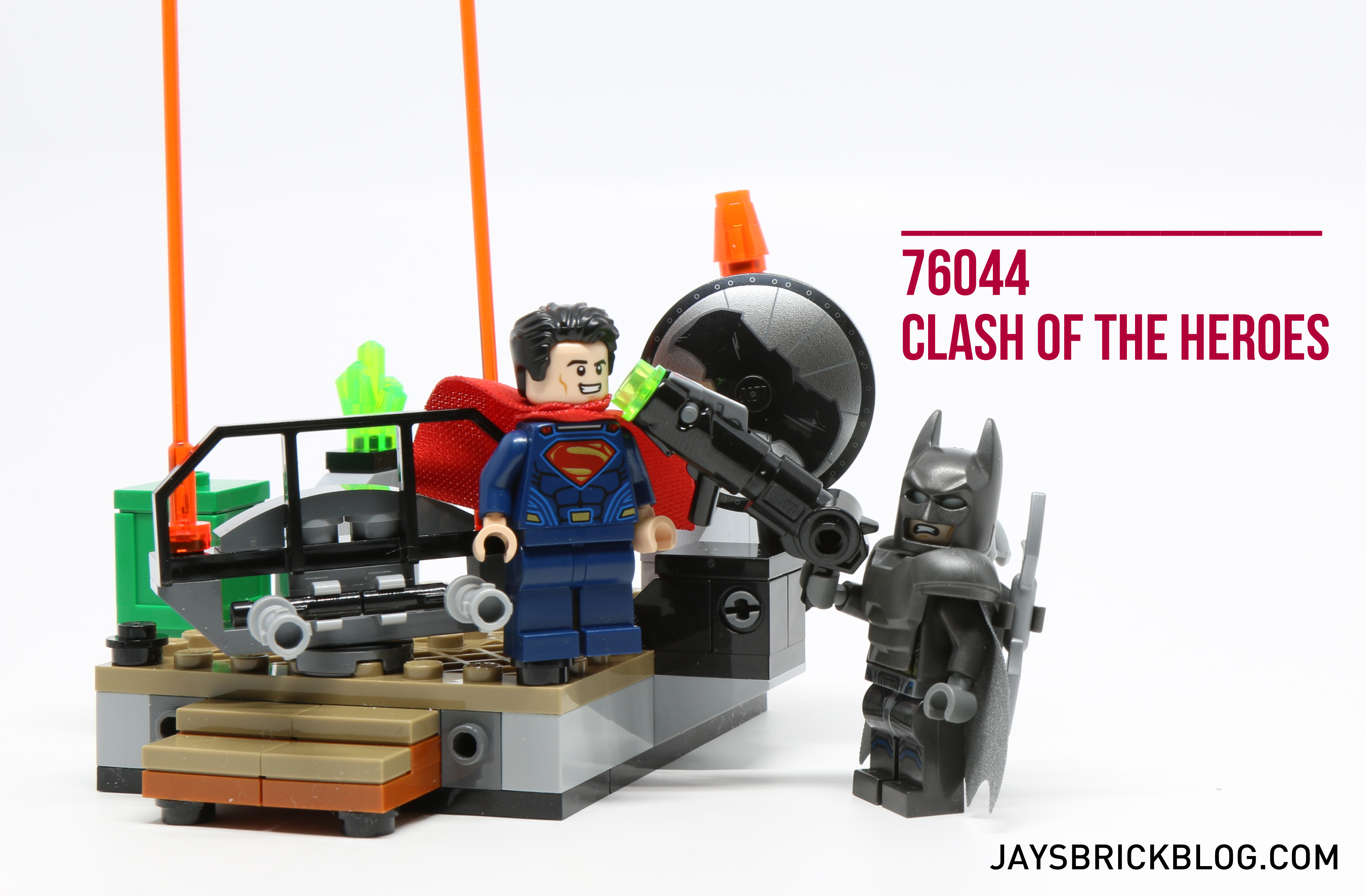 Review: LEGO 76044 Clash of the Heroes