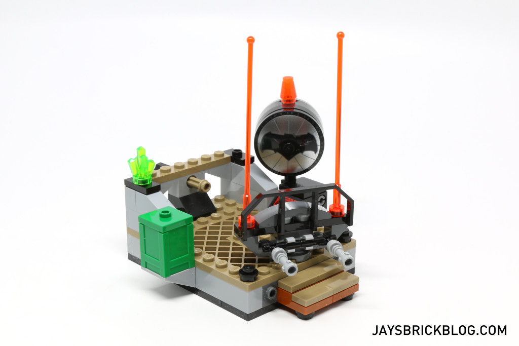 LEGO 76044 Clash of the Heroes - Rooftop Scene