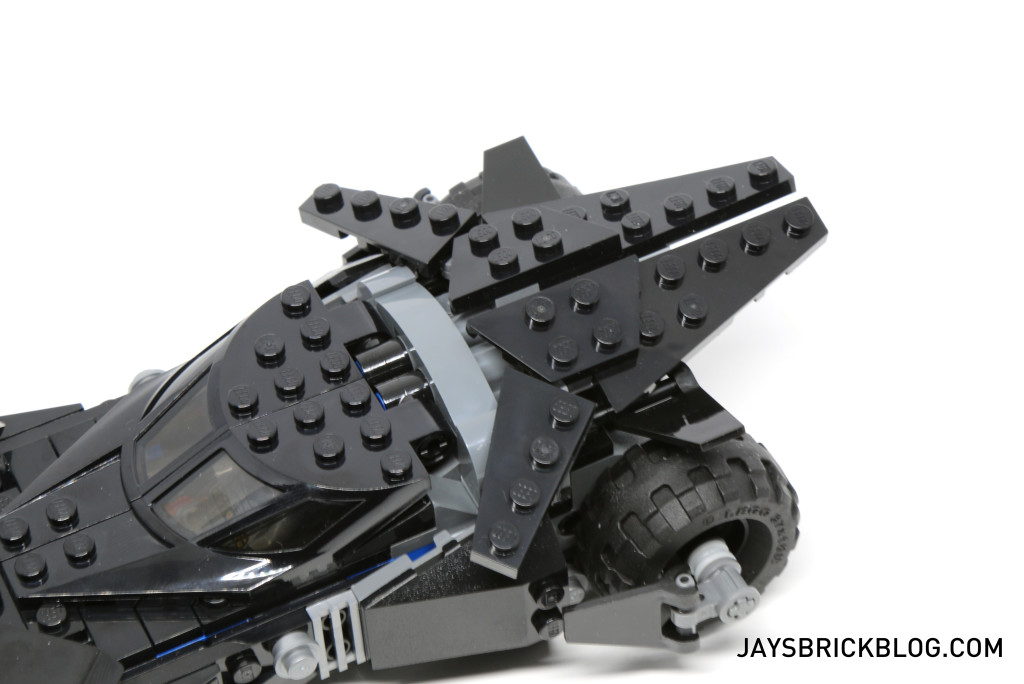 LEGO 76045 Kryptonite Interception - Batmobile Back Fins