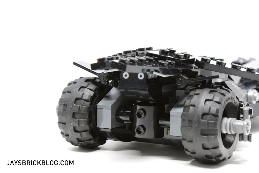 LEGO 76045 Kryptonite Interception - Batmobile Back View