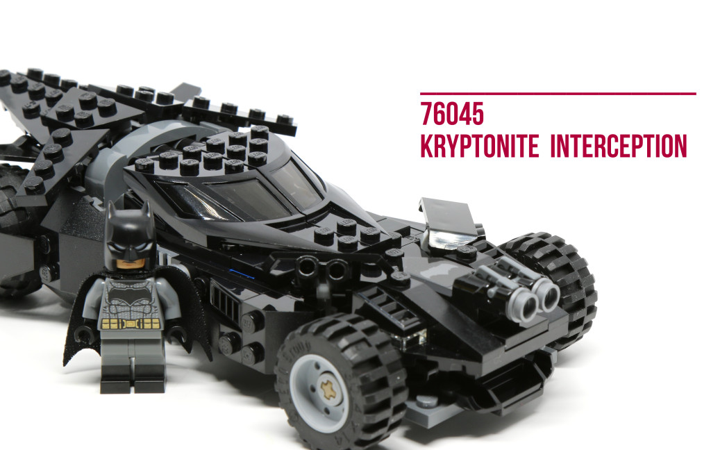 Review: LEGO 76045 Kryptonite Interception