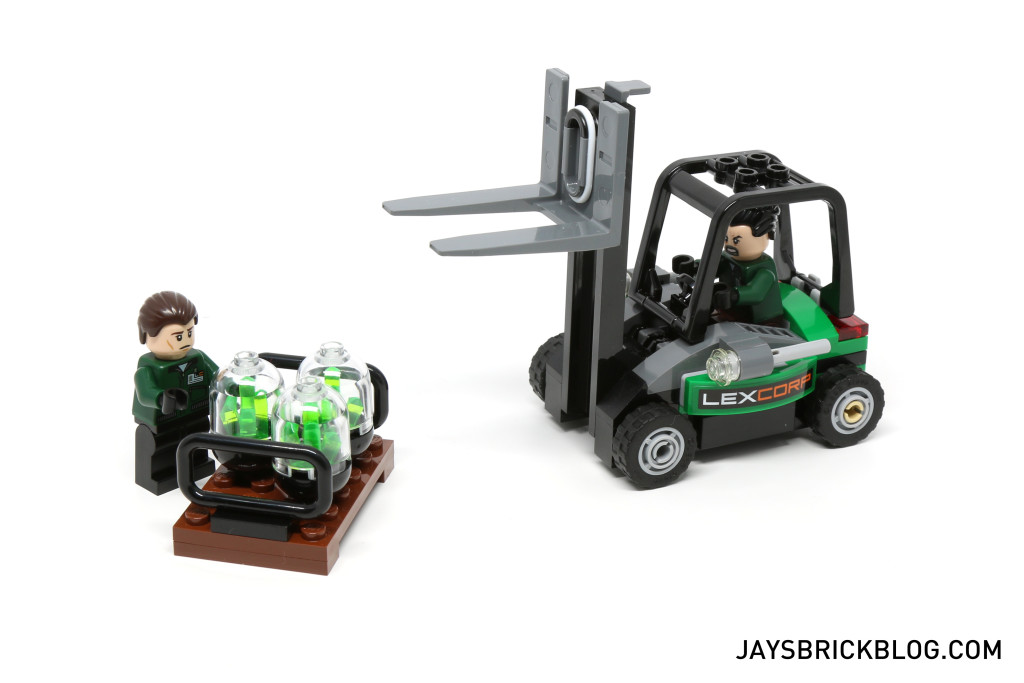 LEGO 76045 Kryptonite Interception - Forklift and Kryptonite