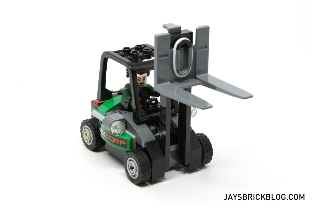 LEGO 76045 Kryptonite Interception - LexCorp Forklift