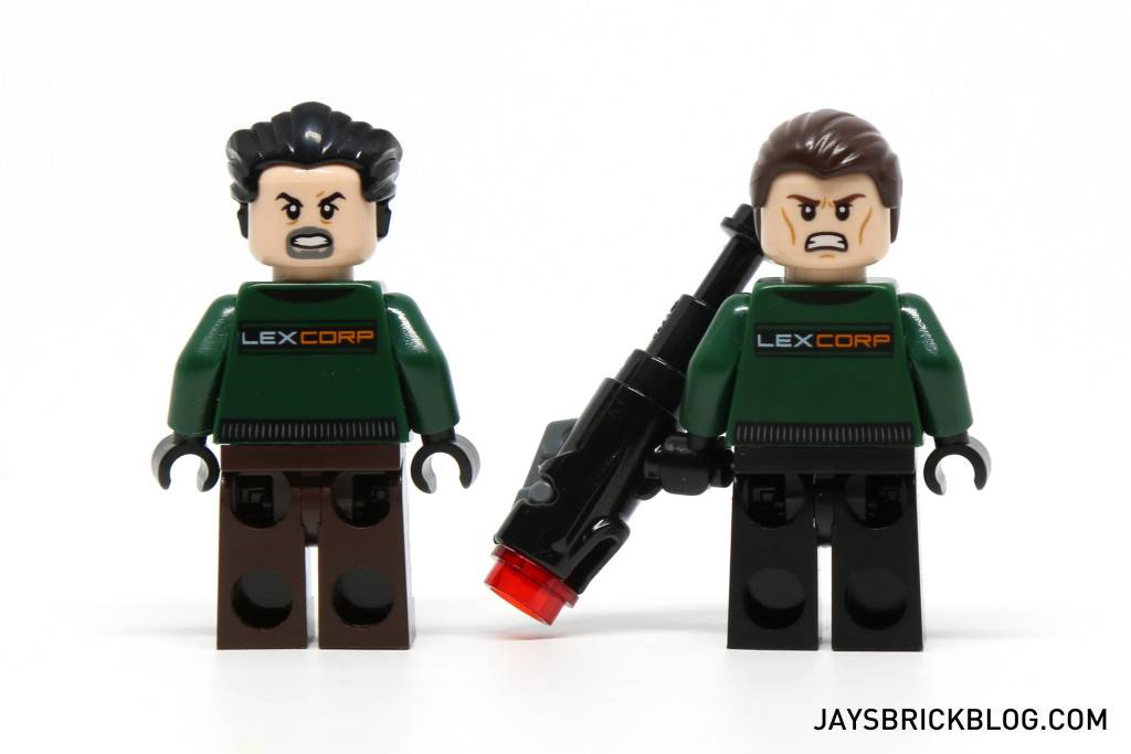 LEGO 76045 Kryptonite Interception - LexCorp Henchman Alternate Face