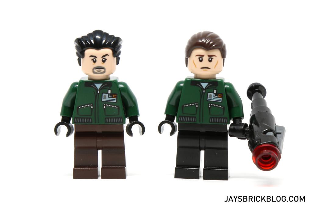 LEGO 76045 Kryptonite Interception - LexCorp Henchmen Minifigure