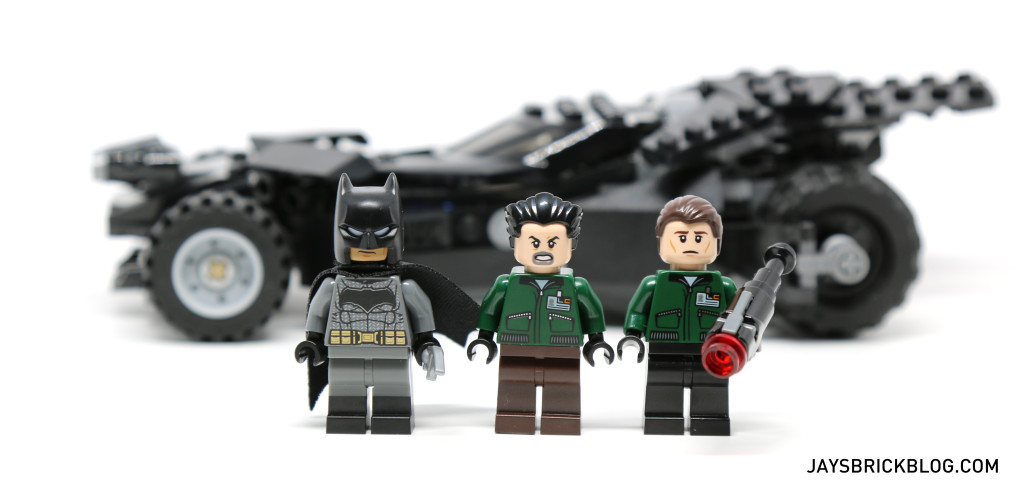 LEGO 76045 Kryptonite Interception - Minifigures