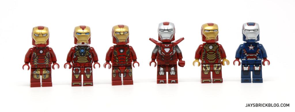 LEGO Iron Man Armours
